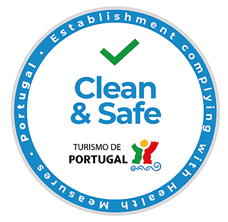 Este alojamento cumpre os requisitos definidos pelo Turismo de Portugal, para evitar a contaminação dos espaços e entre pessoas.